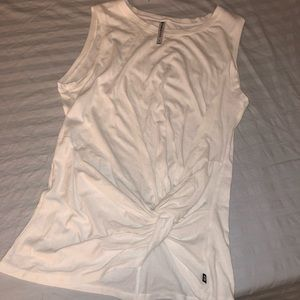 Fabletics tank top tied on one side